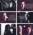 DE 1x22 VS 5x12 - damon-and-elena fan art