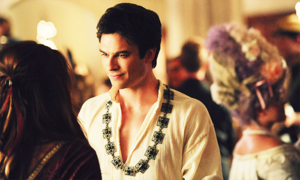 The Vampire Diaries 5x05 'Monster's Ball' Delena