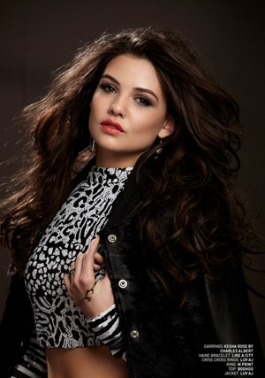 Danielle Campbell in BELLO Magazine
