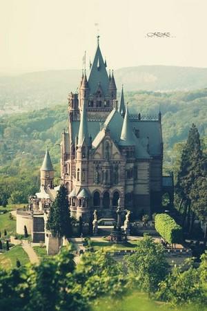 Magic kastil, castle