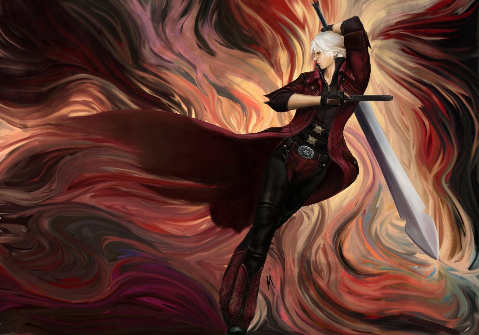 Dante Dmc 4 Devil May Cry 4 ファン Art 36543800 ファン