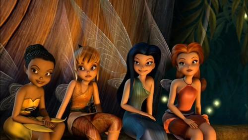 Disney Elfen Filme Hintergrund titled Elfen in the first movie