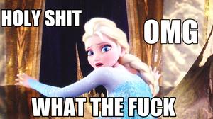 WTF Queen Elsa