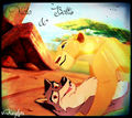 Balto and Nala. - disney-princess-crossover photo