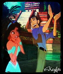 Tulio and Jasmine.