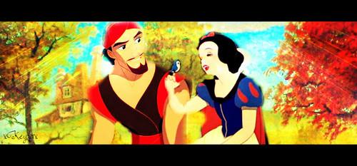 ডিজনি Princess Crossover দেওয়ালপত্র with জীবন্ত titled I am a pirate, আপনি are a princess.
