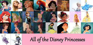 My Disney Princess Collage