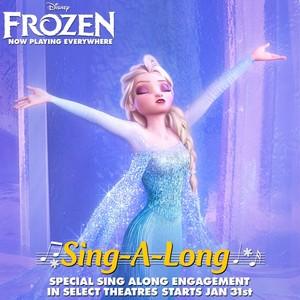 Nữ hoàng băng giá Sing along