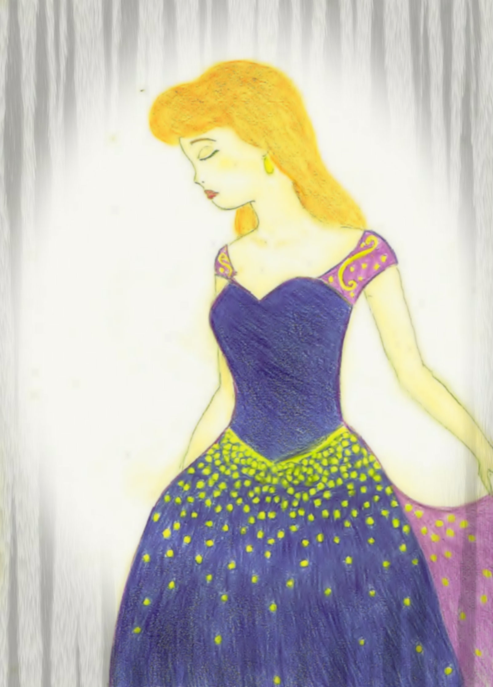 how to draw disney princess cinderella