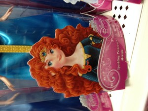 Merida's first redesign still on merchandise?