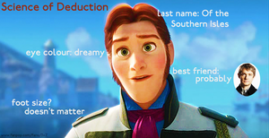 Anna's Deduction about Hans