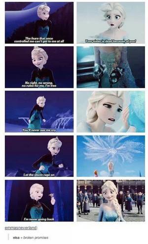 Elsa broke her promises