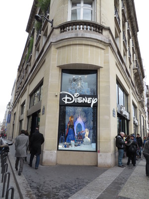 Disney Store in Paris