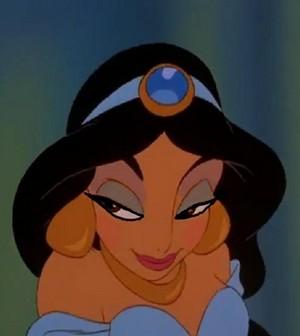 Jasmine's secretive look