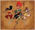 Disney Mutant Ninja Princesses - disney-princess photo
