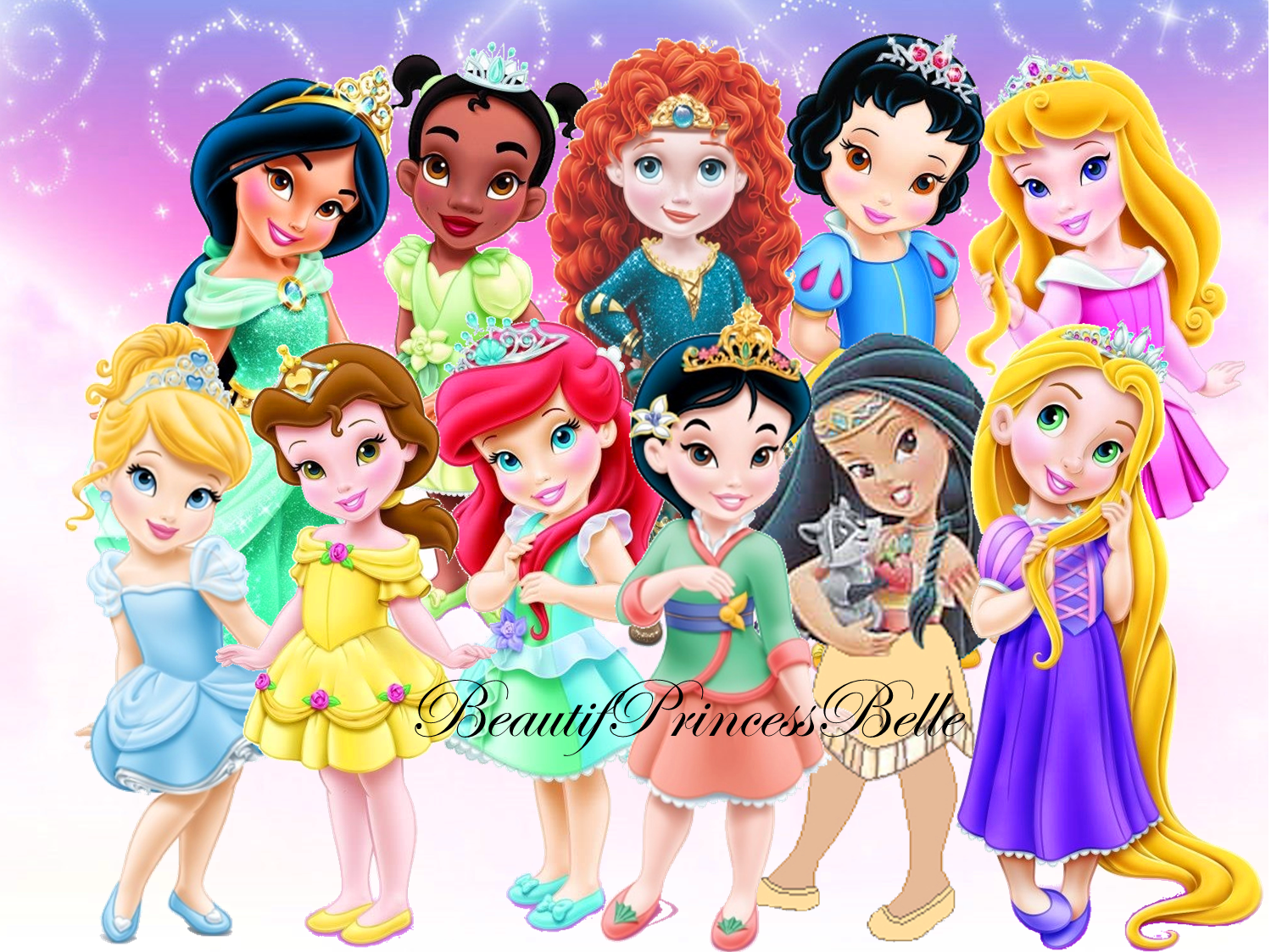 Disney Princess Images Royal Toddlers Hd Wallpaper And Background Photos