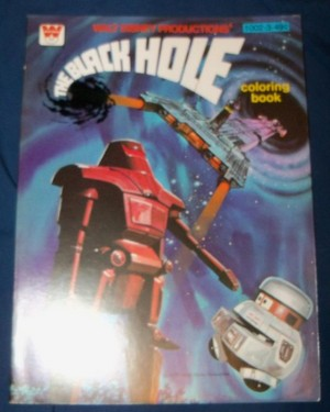 """""""The Black Hole"""" Coloring Book"""