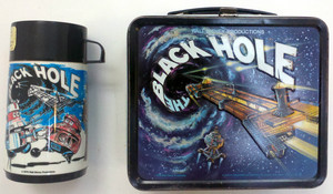 The Black Hole Lunchbox And Thermos Set