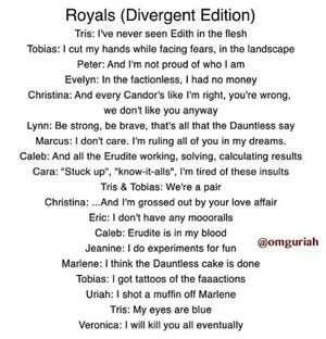 Royals Divergent Versiom