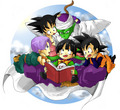 Babysitter Piccolo - dragon-ball-z fan art