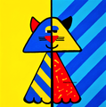 Pop Art Cat - drawing photo