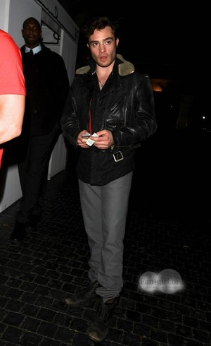 Ed at istana, chateau Marmont Jan. 22