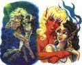 Suntop and Brill - elfquest photo