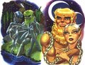 Treestump and Clearbrook - elfquest photo