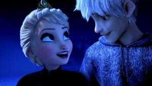 퀸 Elsa and Jack Frost
