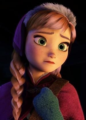 Anna's face