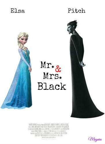Mr and mrs black