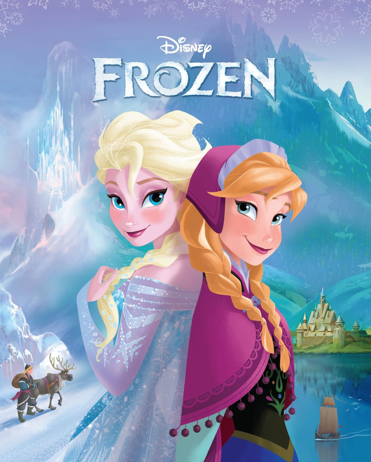 Elsa the Snow क्वीन from Book Cover