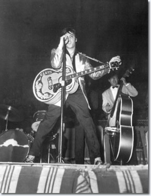 Elvis in Canada {April 3, 1957}