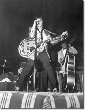 Elvis in Canada  {April 3, 1957}