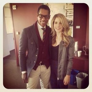 Emily and Orlando Jones