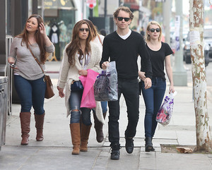 Emma Roberts out shopping with Friends - Jan. 28, 2014