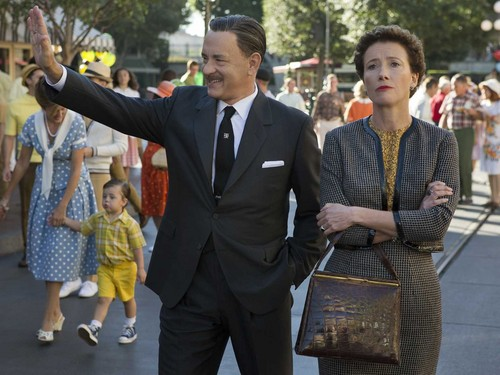 Emma Thompson wallpaper with a business suit, a suit, and a well dressed person called saving mr banks