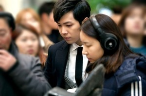 Hongki BTS mga litrato from 'Bride of the Century'