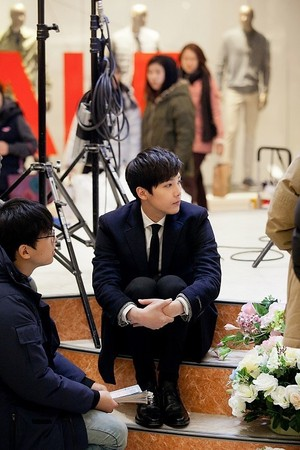 Hongki BTS Fotos from 'Bride of the Century'