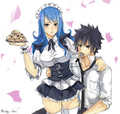 Gray x Juvia - fairy-tail fan art