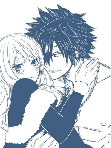 Fairy Tail Hintergrund probably containing Anime called Gray x Juvia
