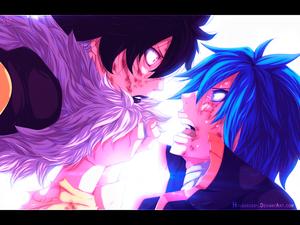 *Midnight & Jellal*
