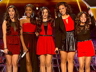 Fifth Harmony wallpaper probably with hot pants called fifth harmony x factor usa 2012