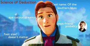 Anna's Deduction about Hans