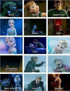 Funny Frozen