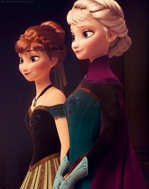 Frozen - Uma Aventura Congelante sisters