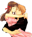 Kyo x Tohru - fruits-basket fan art