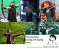 What!!,Bow and Arrow