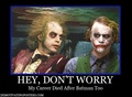 Joker and beetlejuice