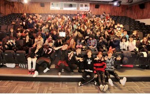 GOT7 at their first fansigning event